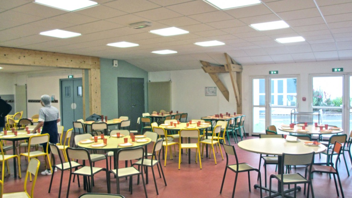 Transformation d'un restaurant scolaire / MAISSE (91)