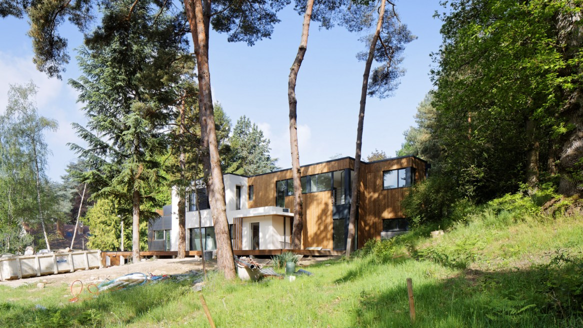 Extension et rénovation d'une maison / ITTEVILLE (91)