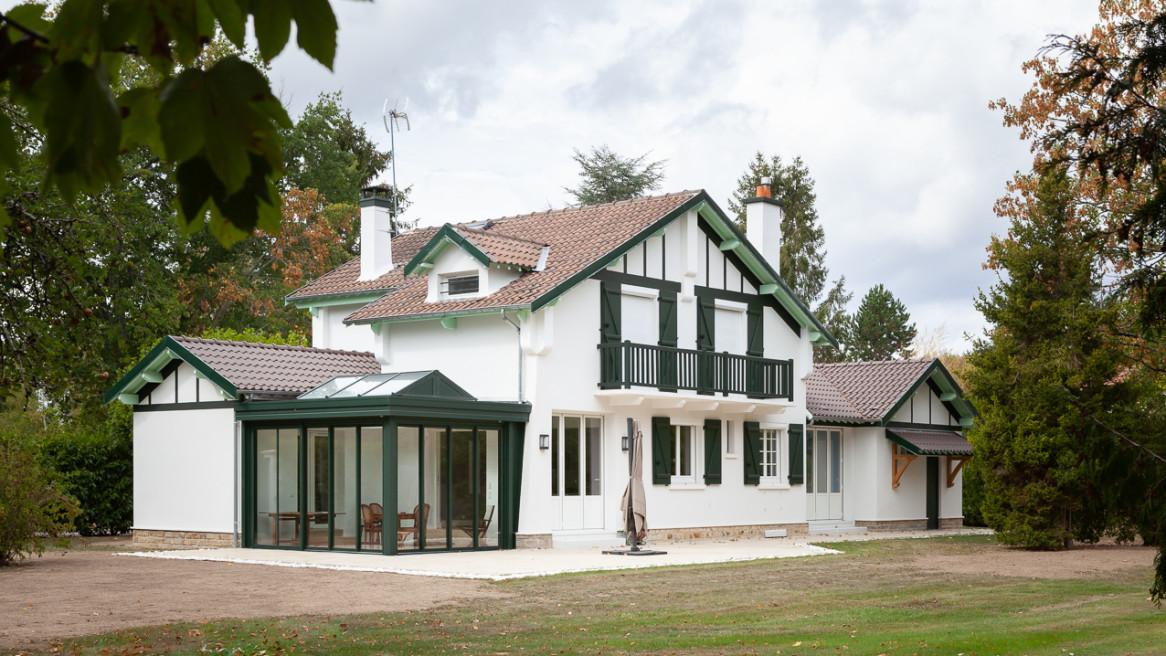 Double extension d'une maison de week-end / BARBIZON (77)